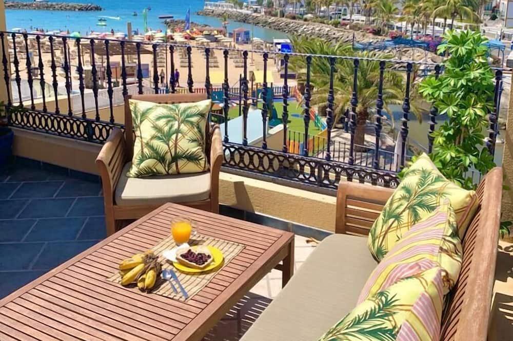 Lejlighed - 3 soveværelser - terrasse - havudsigt (D) - Terrasse/patio