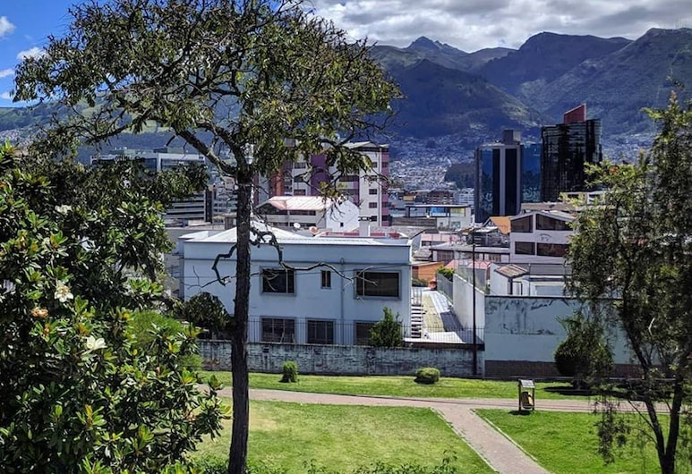 Play House, Quito, View from Hotel