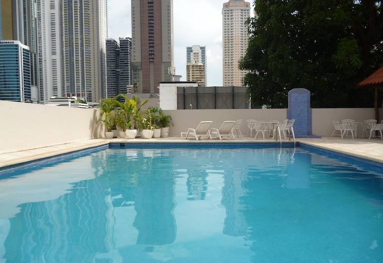 Hotel Tower House Suites, Panama City, Outdoor Pool