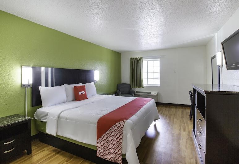 Kings Hotel, Lafayette, Soba, 1 king size krevet, Soba za goste