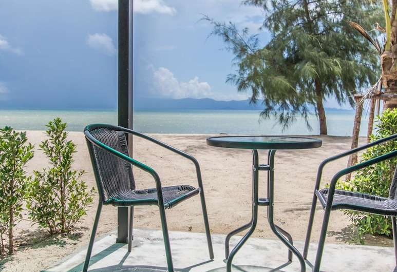Seaesta Beach, Ko Pha-ngan, Sea View Bungalow, Terasa