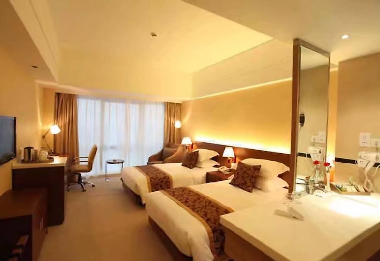 New Century Manju Pudong Airport Hotel, Shanghai, Guest Room