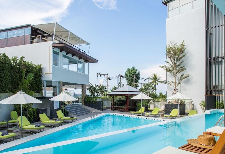 蘇梅島鸚鵡螺 SPA 酒店, 蘇梅島, Chill Out Superior Room with Pool Access, 客房