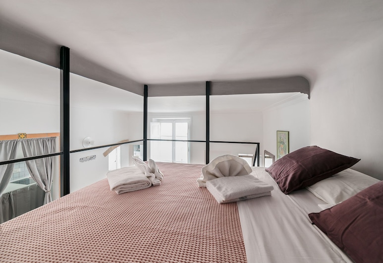 Sleep in the Clouds near Piazza Navona, Rome, Appartement, 1 slaapkamer, Kamer