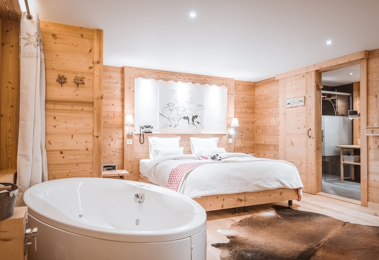 Lifestyle Rooms & Suites by Beau-Séjour, Champery, Lifestyle Deluxe Double Room, Guest Room