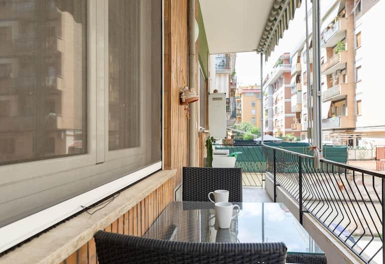 Rentopolis Marini 42 - Furio Camillo, Roma, Appartamento, 2 camere da letto, Balcone