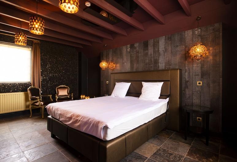 Love Hotel Domaine 10 , Middelkerke, Suite Deluxe, 1 cama king-size, Não-fumadores, Quarto