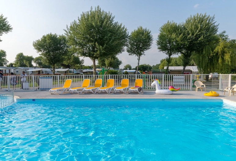Camping la fontaine, Guerande, Basen odkryty