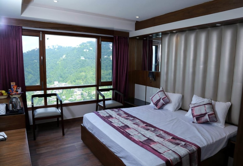 Mahaveer B&B, Shimla, Super Deluxe with mountain View, Guest Room