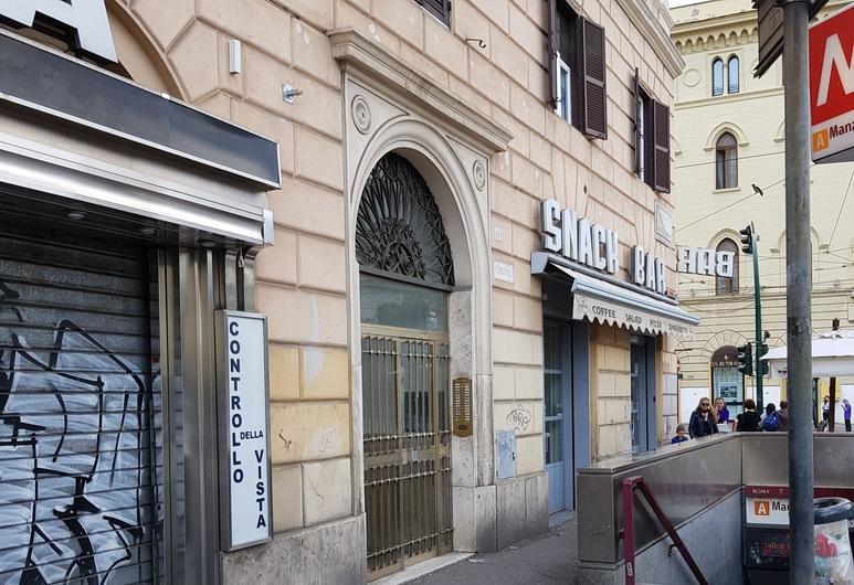 羅馬與意大利酒店, 羅馬, 酒店正面