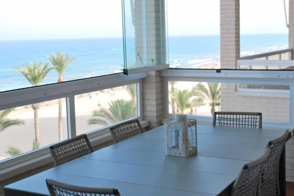 Апартаменты, 3 спальни - Балкон