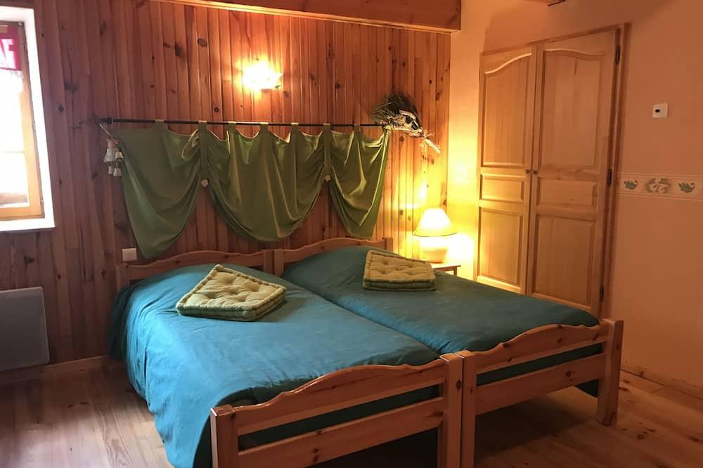 חדר זוגי, ללא עישון, נוף לגן - חדר אורחים
