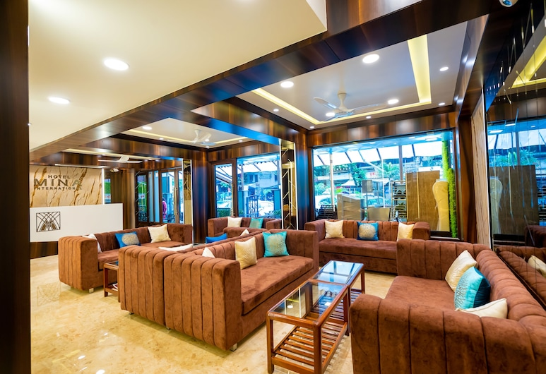 Hotel Mina International, Bombay, Lobi
