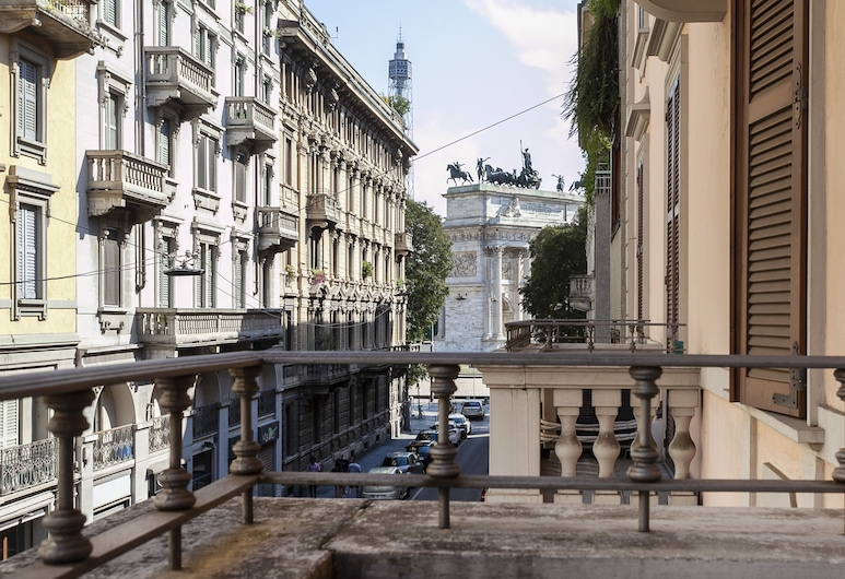 Italianway   - Cagnola 5, Milan, Apartment, 1 Bedroom, View from room