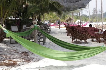 瓜隆島高龍島沙岸餐廳及露營飯店的相片