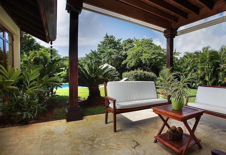 Villa Preciosa by Casa de Campo Resort & Villas, San Rafael del Yuma, Terasa/trijem