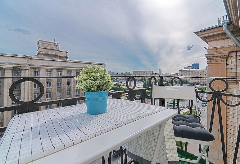 Moskovskiy Prospect View Apartment, St. Petersburg, Comfort Apartment, Balkoni