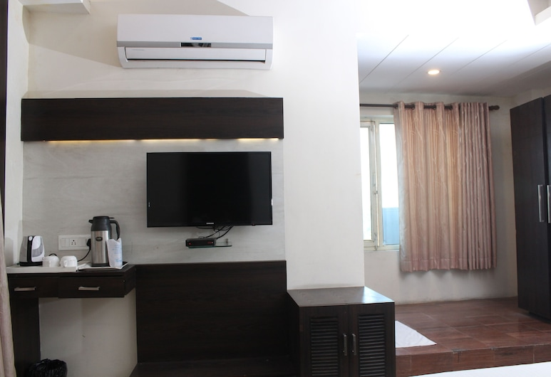 HOTEL GALAXY, Allahabad, Quarto Duplo ou Twin Superior, 1 cama king-size, Acessível, Fumadores, Quarto
