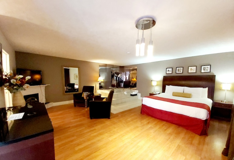 Seelys Motel, Shediac, Romantic Room, 1 King Bed, Jetted Tub, Guest Room