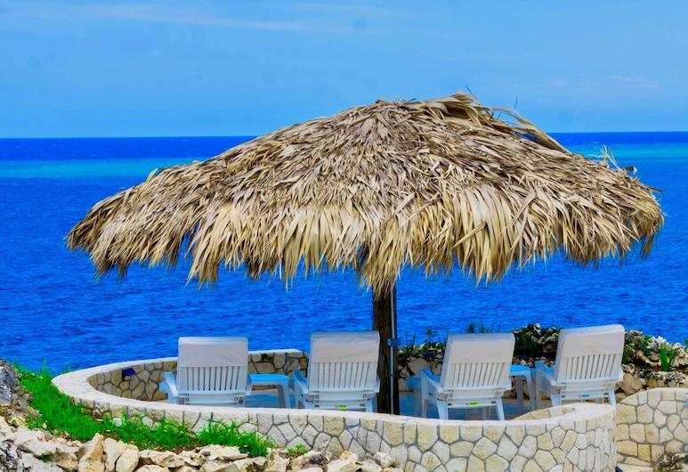 Tropical Luxury, 2 Bedroom, Ocean View, Townhouse, Negril, Pantai