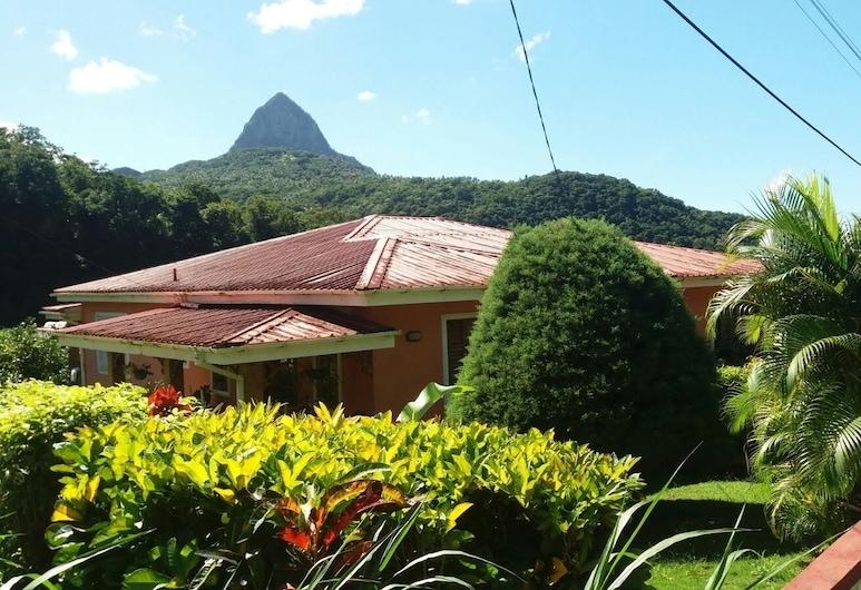 Cocoa  Pod Studio, Soufrière, Jardín
