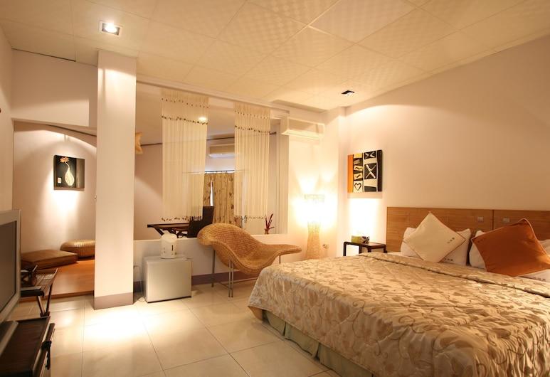 墾丁轉角非凡民宿, 恆春, 雙人房, 1 張標準雙人床, 非吸煙房, 客房