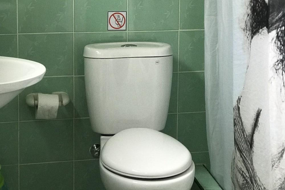 스탠다드 더블룸, 침대(여러 개), 흡연 - 욕실