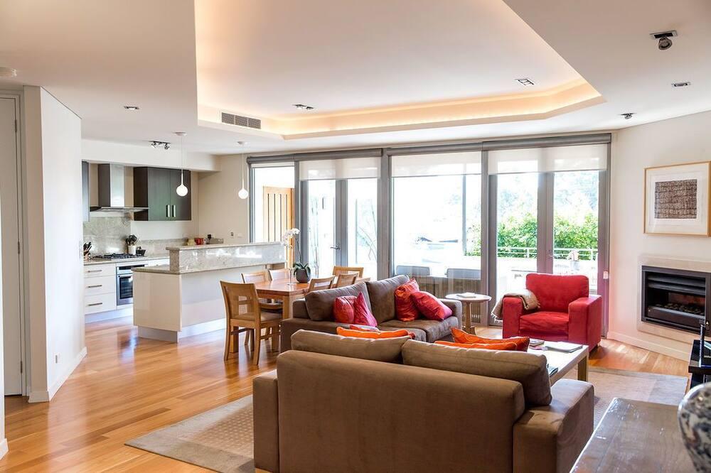 奢華公寓, 1 張特大雙人床, 非吸煙房 - 客廳