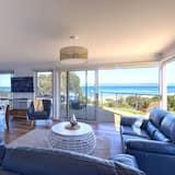 Namas su vitrininiais langais, 3 miegamieji, 2 miegamieji, vaizdas į vandenyną - Svetainės zona