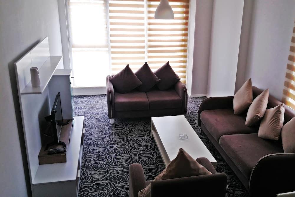 Superior apartman, Više kreveta, za pušače - Dnevna soba