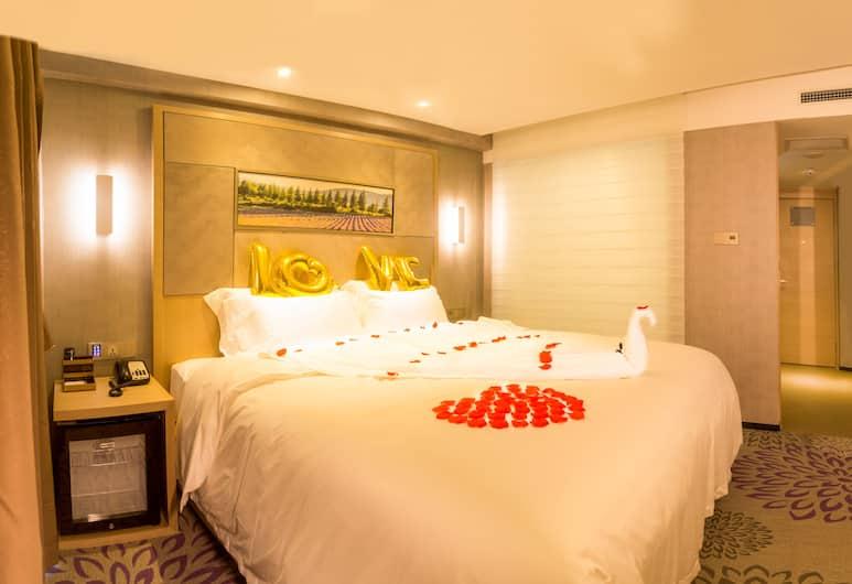 Lavande Hotel Qingdao Wusi Plaza Branch, Qingdao, Kamar Double Romantis, Kamar Tamu