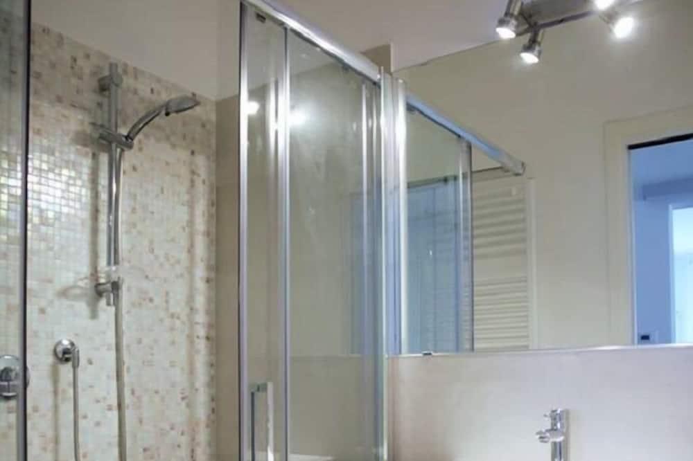 Chambre Simple Standard, 1 lit une place, vue jardin - Salle de bain