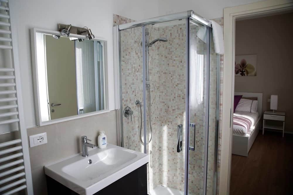Chambre Double Standard, salle de bains attenante, vue jardin (Rosa) - Salle de bain