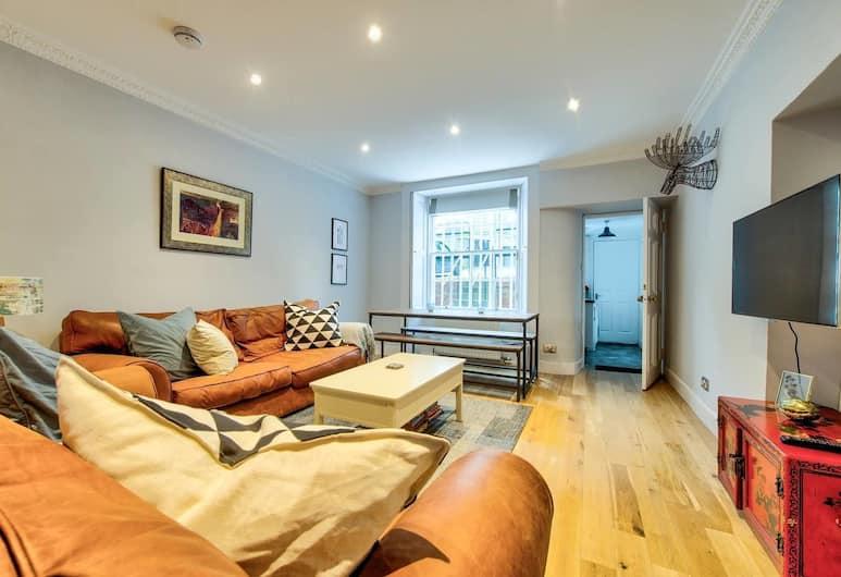GuestReady Apartment in West End, Edinburgh, Oturma Odası