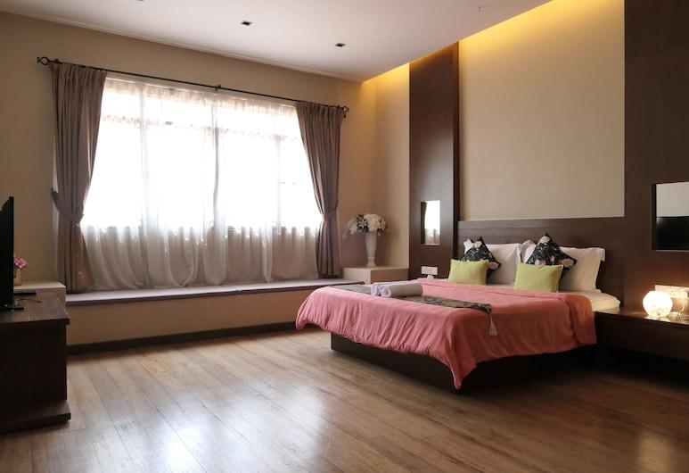 Gurney 4+1 Bali Style Tranquil Villa, Džordž Taunas, Namas su patogumais, 5 miegamieji, Kambarys