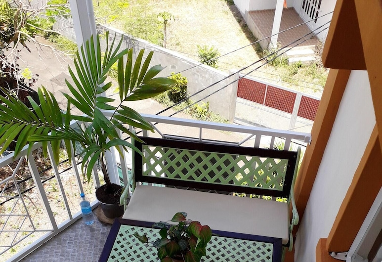 Apartment With one Bedroom in Grand Baie, With Wonderful City View and Wifi - 300 m From the Beach, Grand-Baie, Balkon