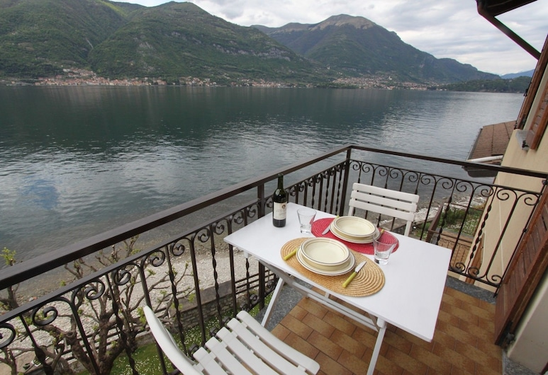 Crotto House on the Lake with Balcony, Lezzeno, Apartman, 1 spavaća soba, Balkon
