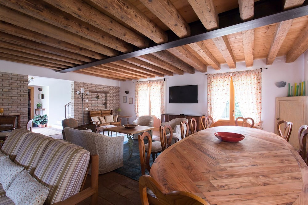Classic Double Room, Terrace (Cortina) - Living Area
