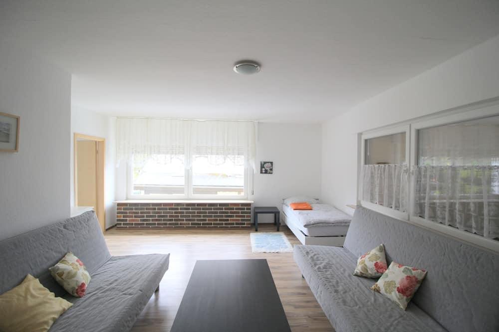 アパートメント 1 ベッドルーム (HR034-E06) - リビング エリア