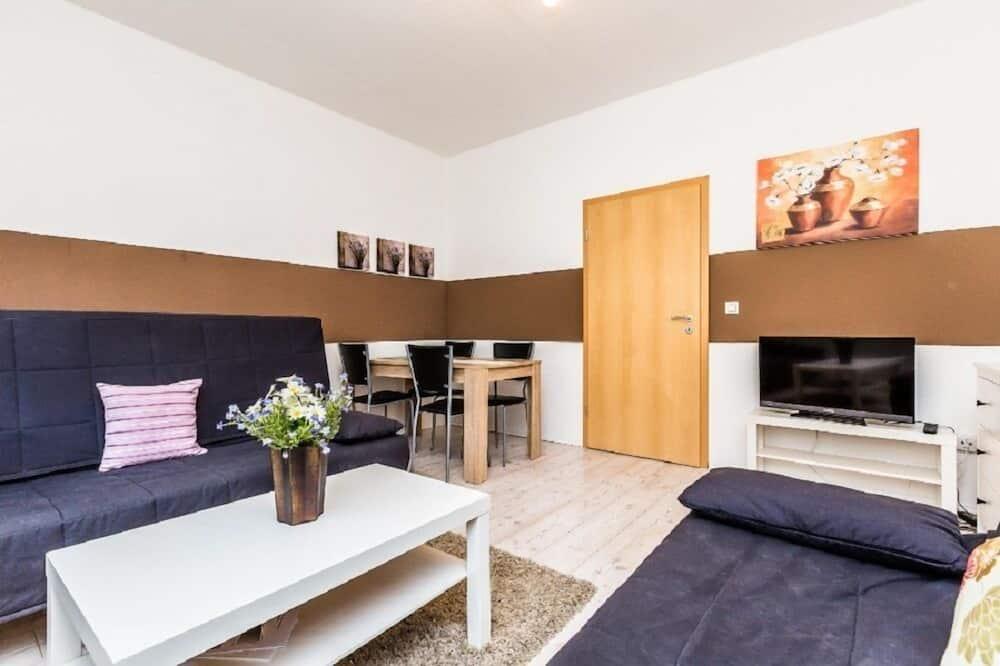 アパートメント 1 ベッドルーム (HR034-E05) - リビング エリア