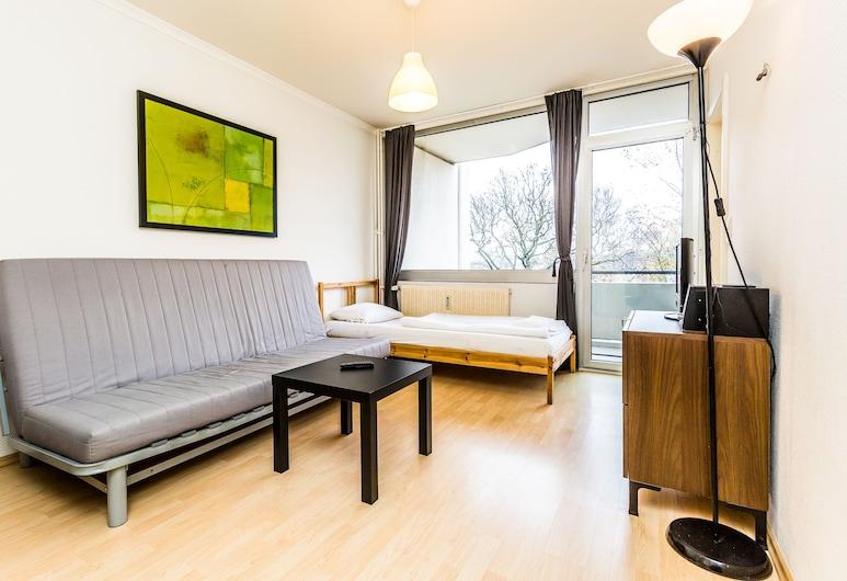 Ferienwohnung Köln Ostheim, Colonia, Apartamento, 1 habitación (HR050-K03), Sala de estar