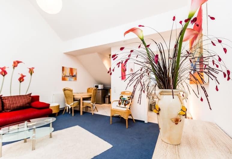 Relax Apartment Köln Merheim, Köln, Apartment, 1 Schlafzimmer (HR109-K46), Wohnbereich