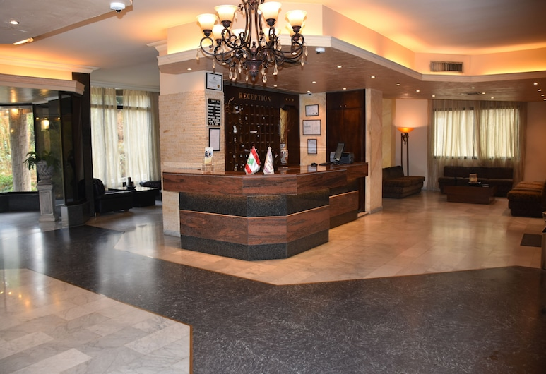 Via Verde Hotel, Jdeideh, Rezeption