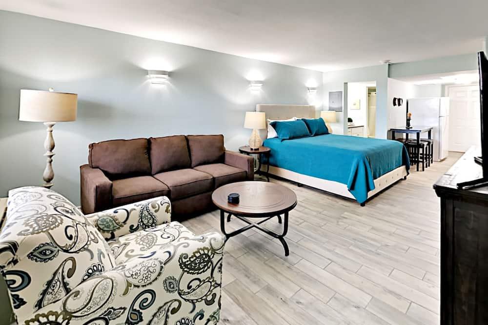 Lejlighed - 1 soveværelse - balkon - Værelse