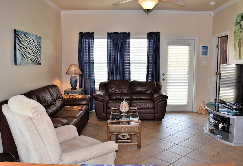 9Th St Town House #601 - Two Bedroom Townhome, Perlabuhan Aransas , Condo, 2 Bedrooms, Kitchen, Ruang Tamu
