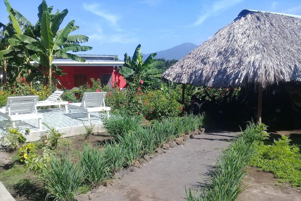 Tradicionāls bungalo, viena guļamistaba, piekļuves iespējas personām ar kustību traucējumiem - Dzīvojamā zona