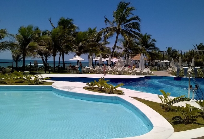 , two Bedrooms, two Bathrooms Cond. Summer House Genipabu, Guarajuba, Camacari, Kolam