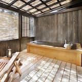 Tradiční hotelový pokoj, vedlejší budova (Japanese Style, Open-air Bath) - Umyvadlo vkoupelně