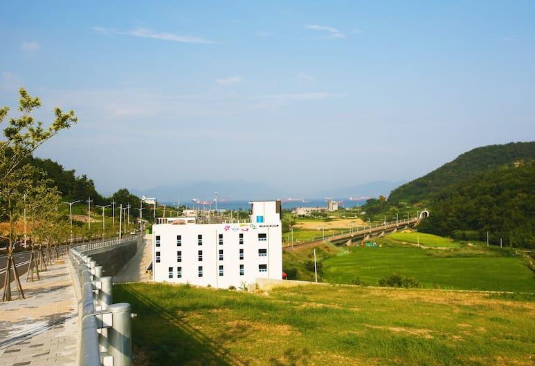 Flora Hostel Pension, Yeosu, Dış Mekân