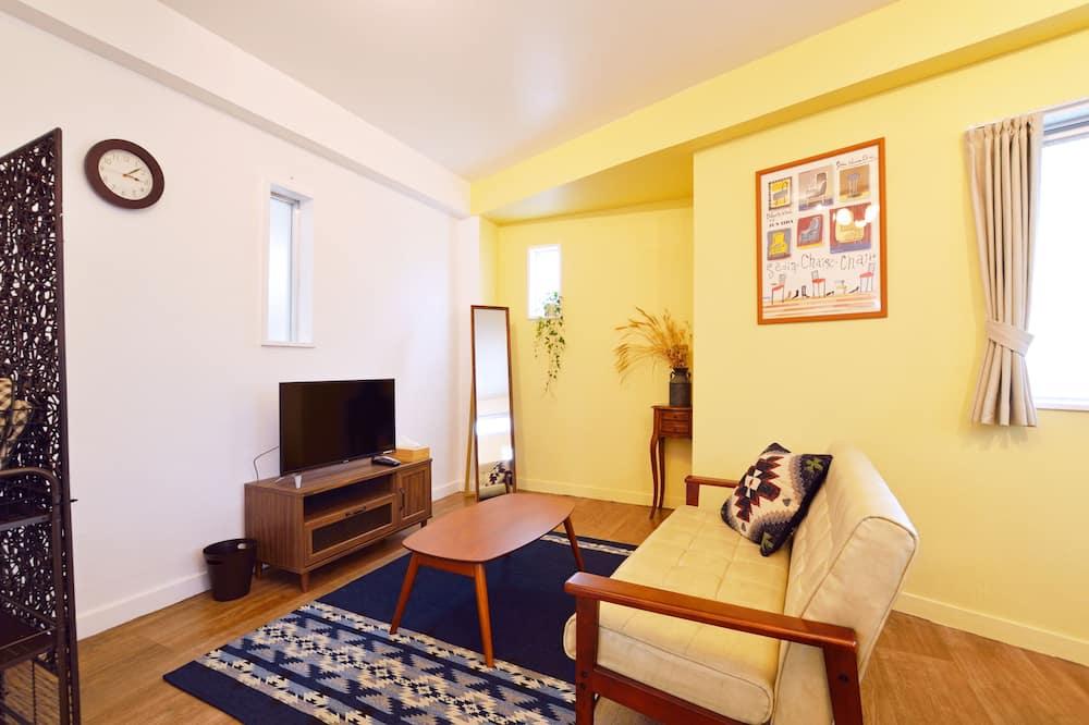 Апартаменты (Quadruple Room - 301) - Гостиная